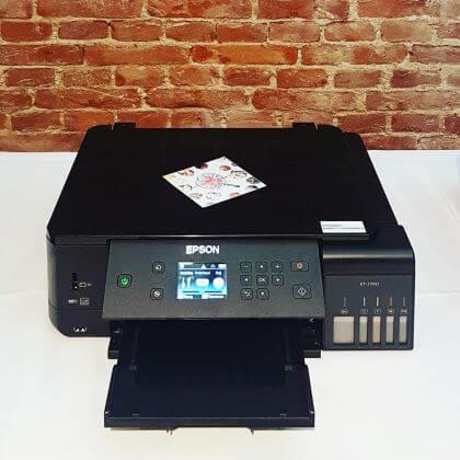 De Leuke Update #7 | Epson Printer