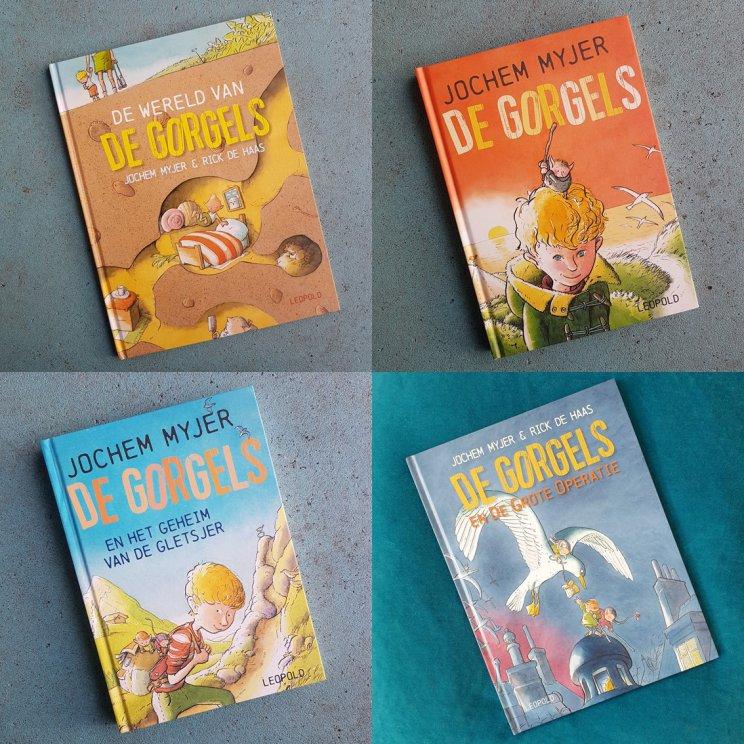 de verschillende boeken van de Gorgels