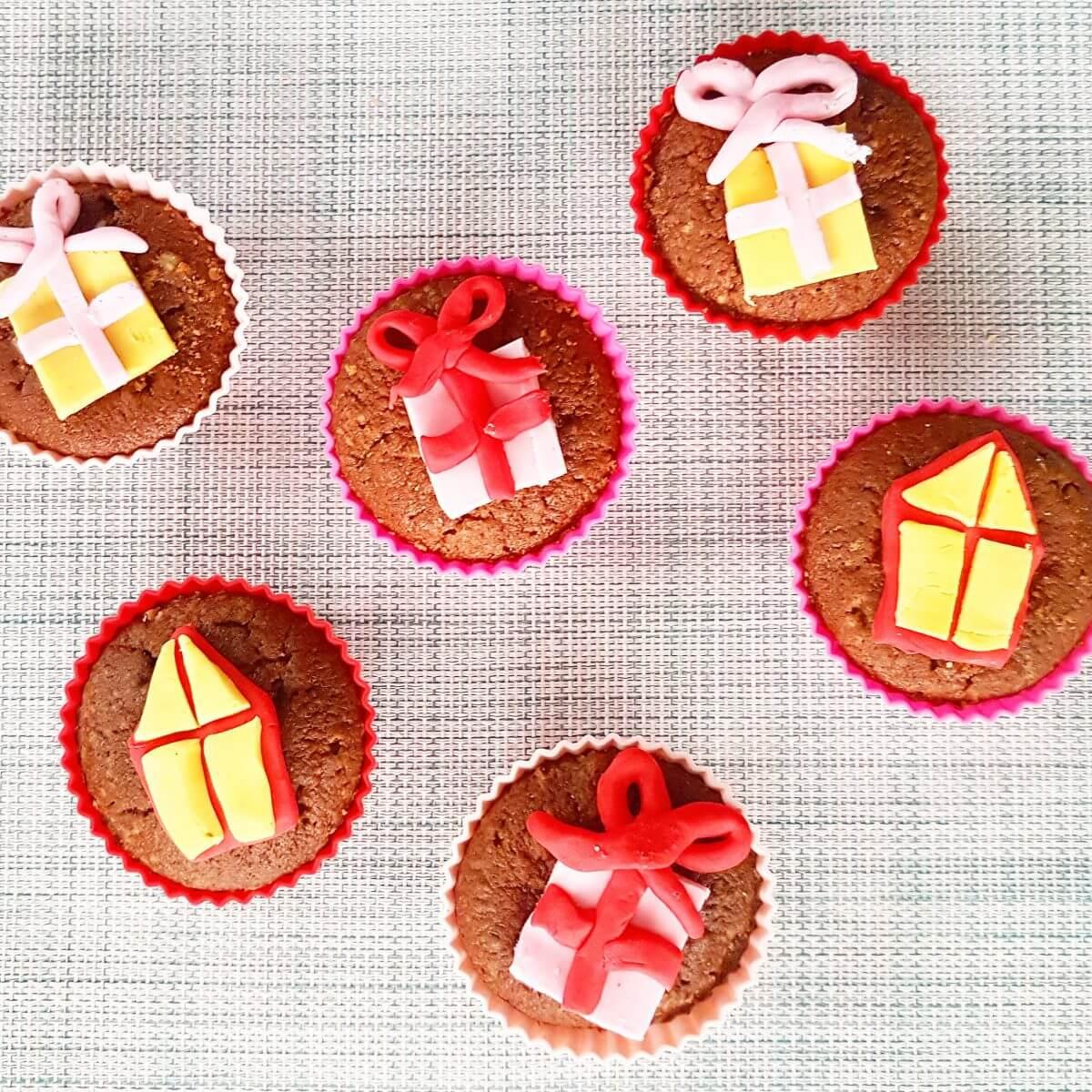 Sinterklaas recept: speculaas-cupcakes