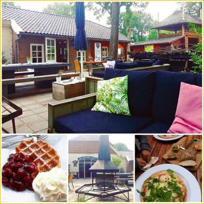 Kindvriendelijke restaurants en hotels: met speeltuin en ander leuks. Camping De Lemeler Esch Boscafe restaurant