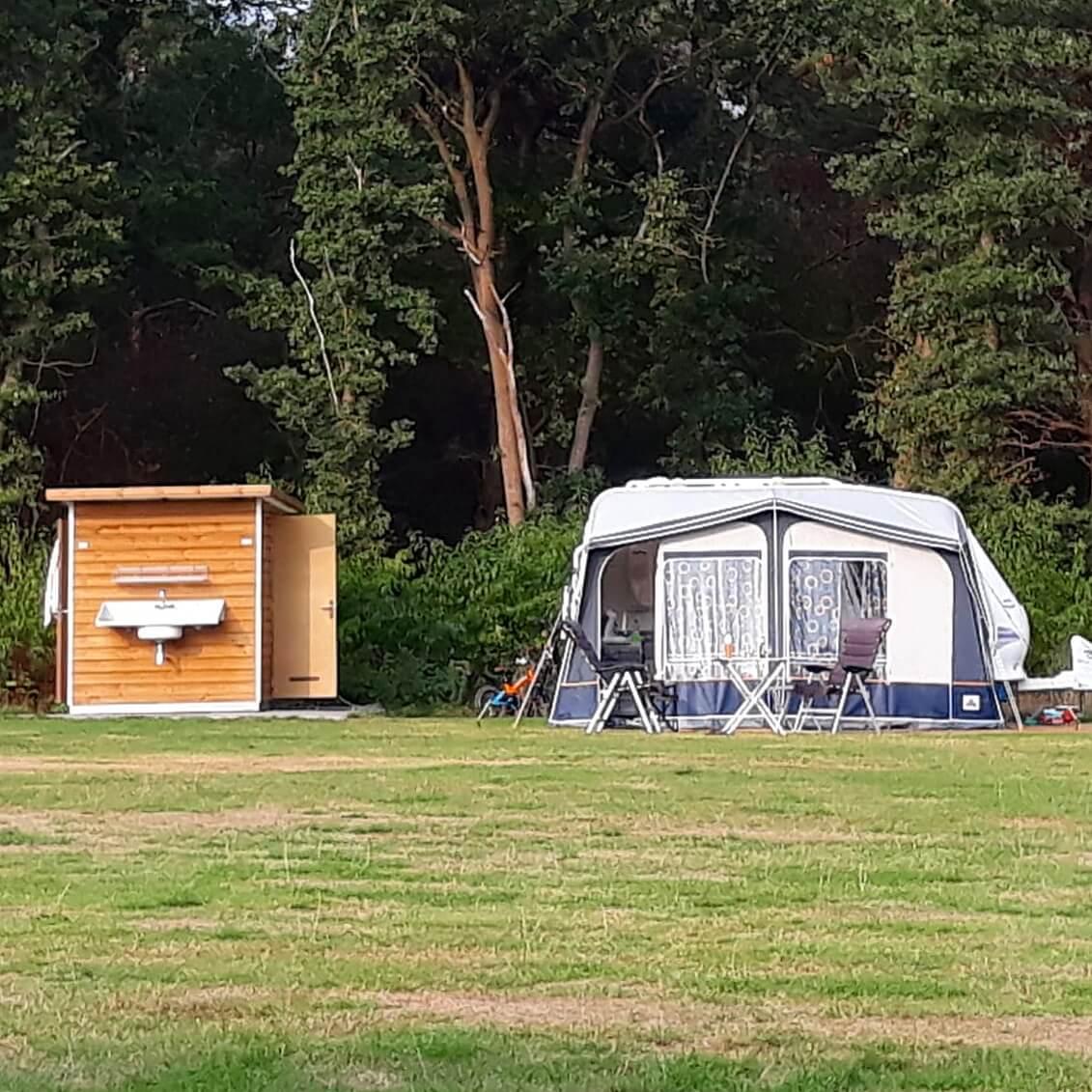 Camping De Lemeler Esch camping met prive sanitair
