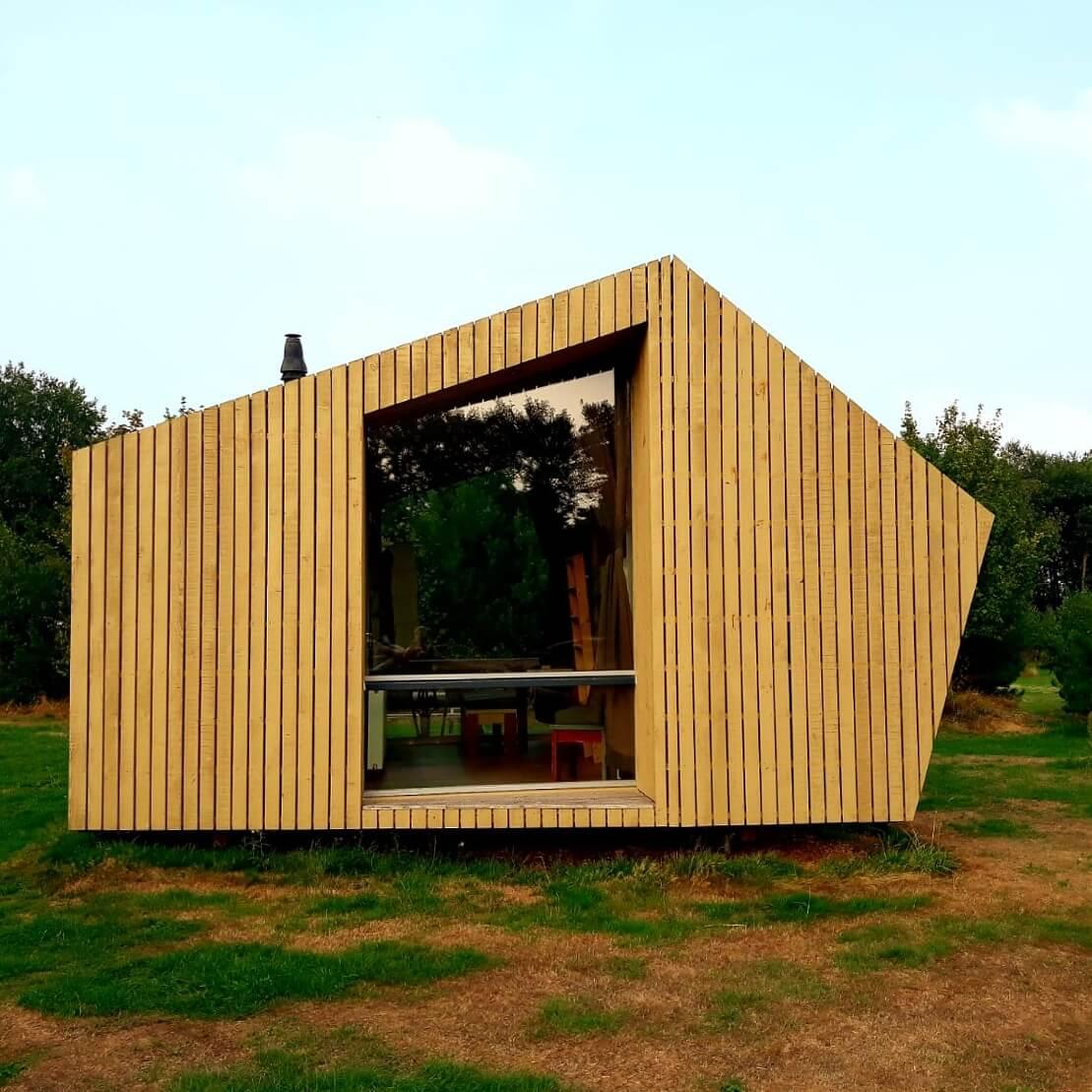 Camping De Lemeler Esch huisje