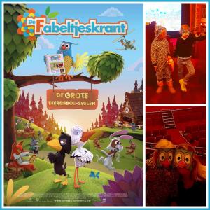 Filmtip: De Fabeltjeskrant & De Grote Dierenbos-spelen