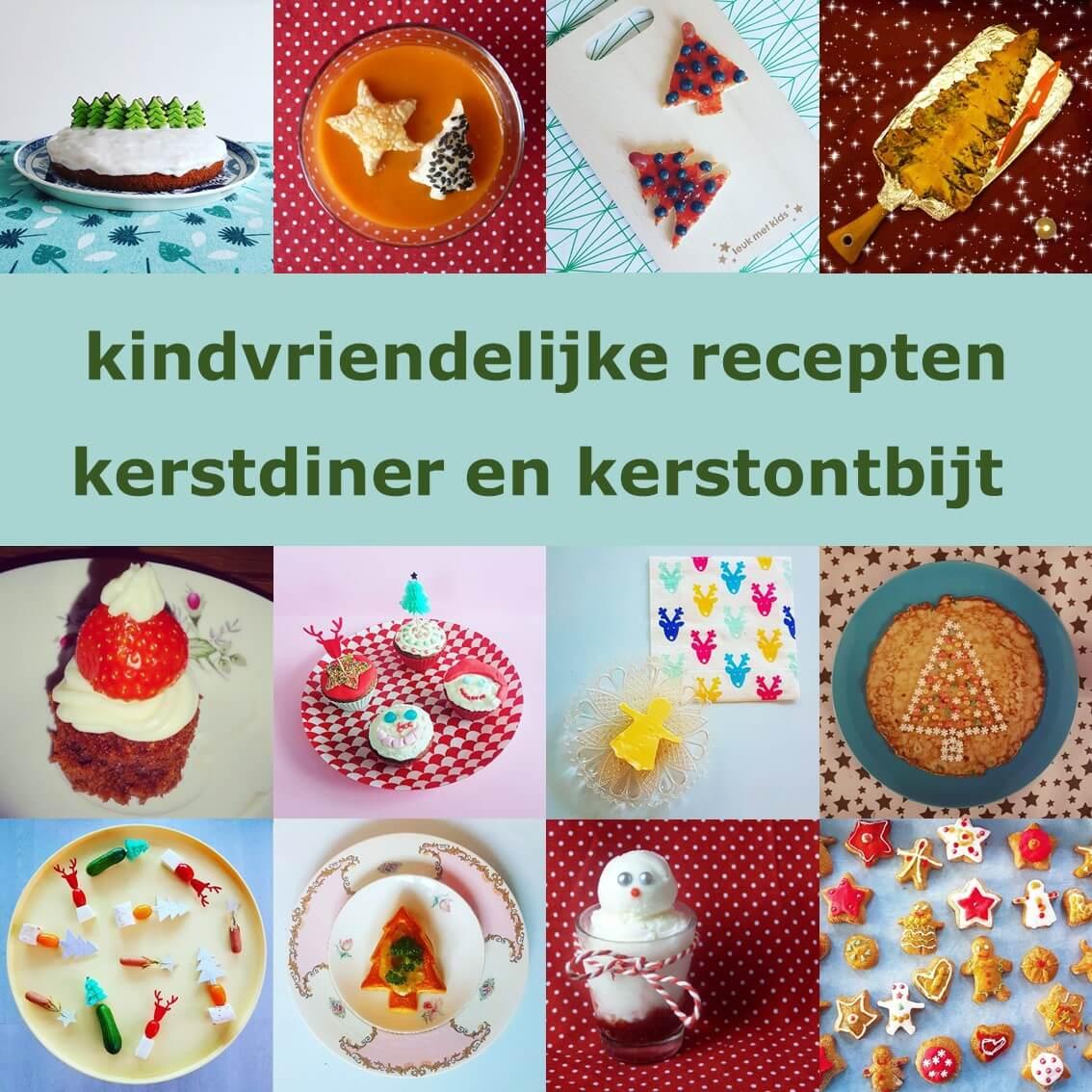 Recepten voor kerstdiner en kerstontbijt met kinderen, op school en thuis