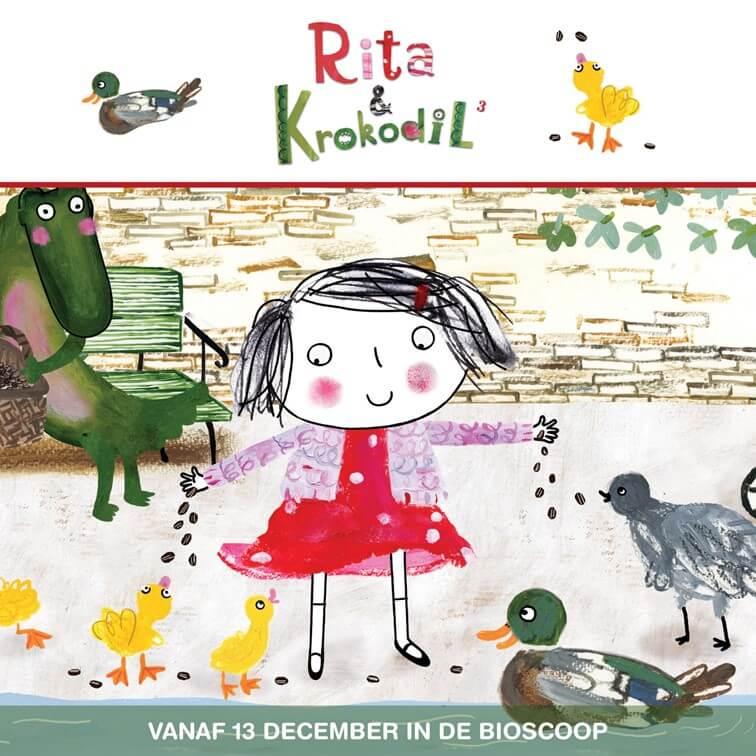 Filmtip: Rita & Krokodil deel 3 in de bios ★ met winactie