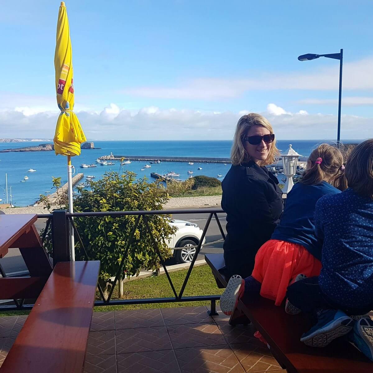 Restaurant Batedor Sagres kindvriendelijk aan het water zee sea