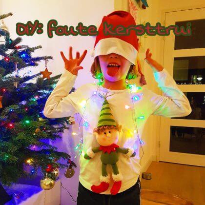 DIY: een zelfgemaakte foute kersttrui