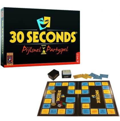 bordspellen voor tieners: 30 seconds