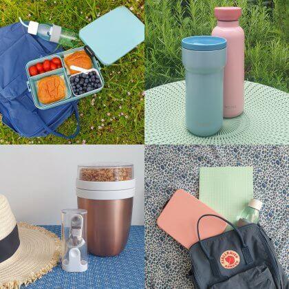 Verjaardag cadeau ideeën voor kinderen van 9, 10, 11 of 12 jaar. Een mooie broodtrommel, thermosfles of isoleerbeker.