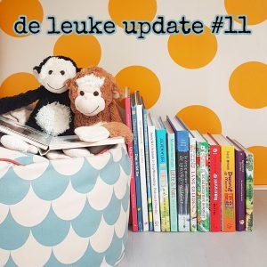 De Leuke Update #11 | onze favoriete (voor)leesboeken & kids uitagenda