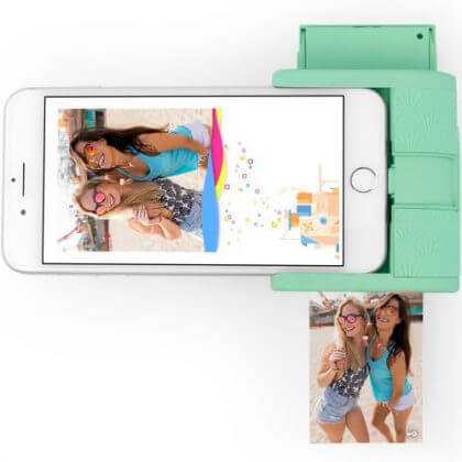 cadeau ideeën voor tieners: mini fotoprinter