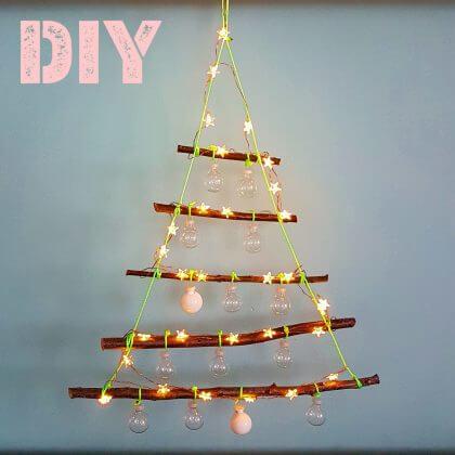 DIY: kerstboom knutselen van takken