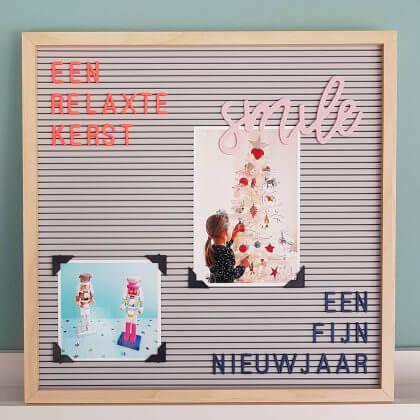 cadeau voor kinderkamer of tienerkamer: letterbord