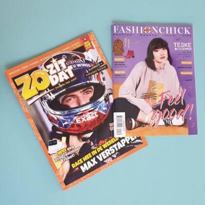 Cadeau ideeën voor tieners: tijdschrift als cadeau voor de middelbare school
