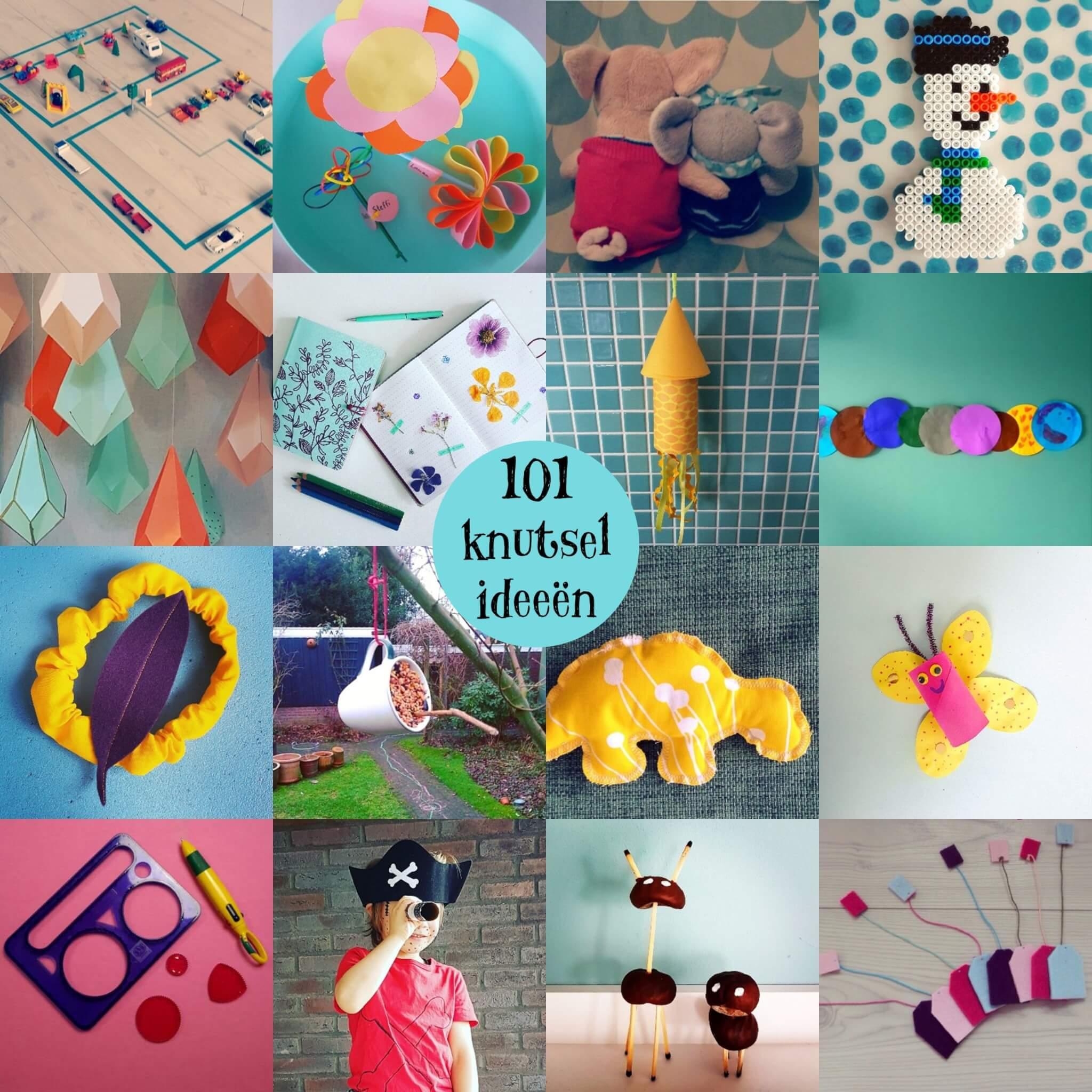 Fonkelnieuw 101 ideeën om te knutselen met kinderen - Leuk met kids IY-65