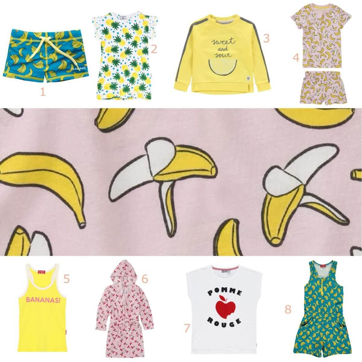 5 kinderkleding trends voor de zomer - fruit prints
