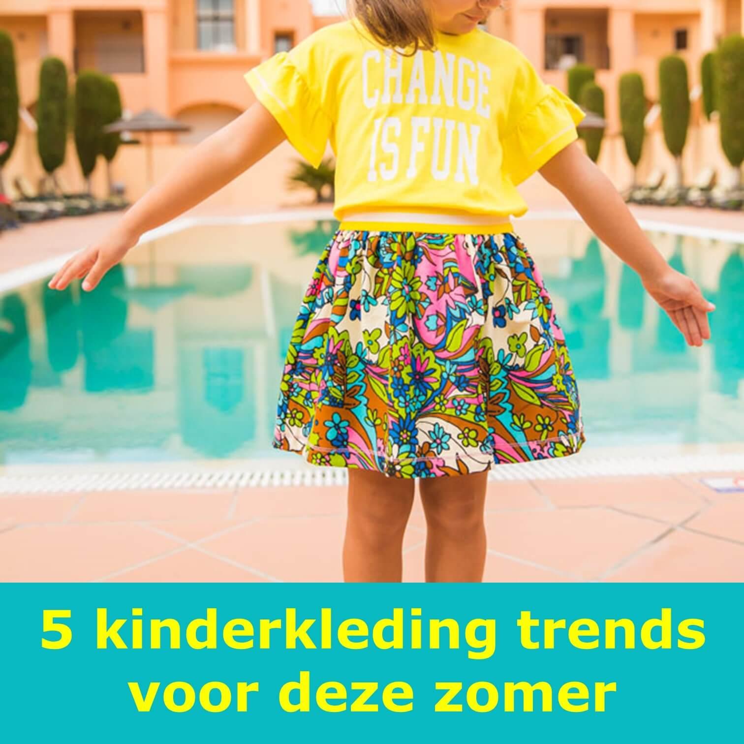5 kinderkleding trends voor de zomer