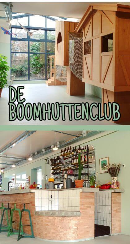De Boomhuttenclub: lunchen terwijl de kinderen klauteren