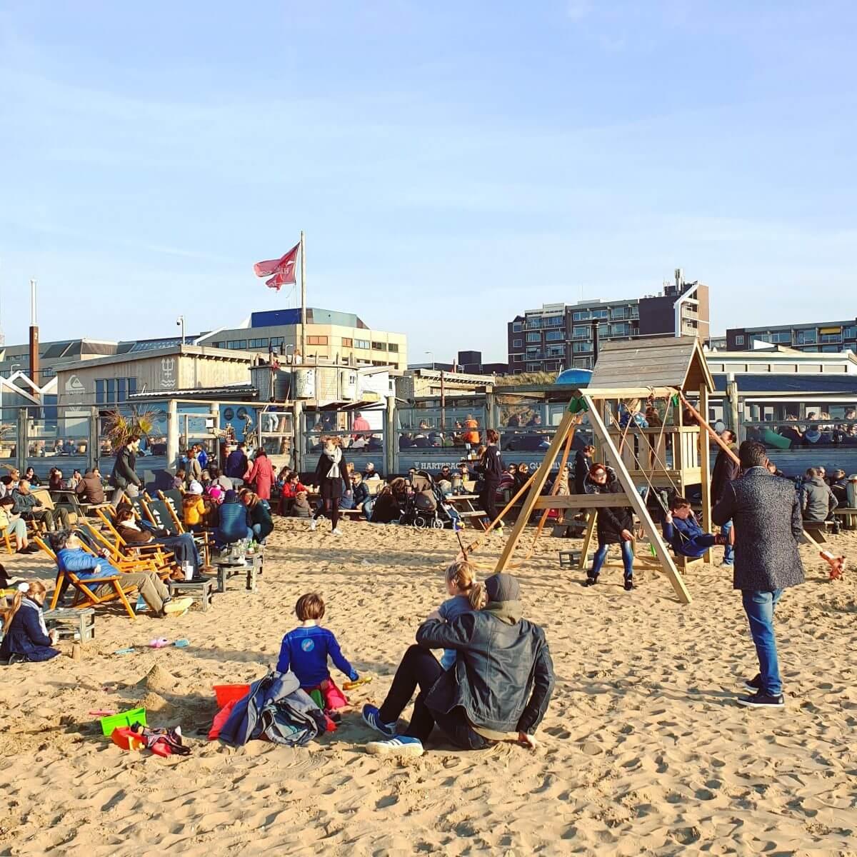 Den Haag met kids: Scheveningen met Hart Beach