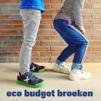 Hippe eco budget kinderbroeken voor jongens en meisjes