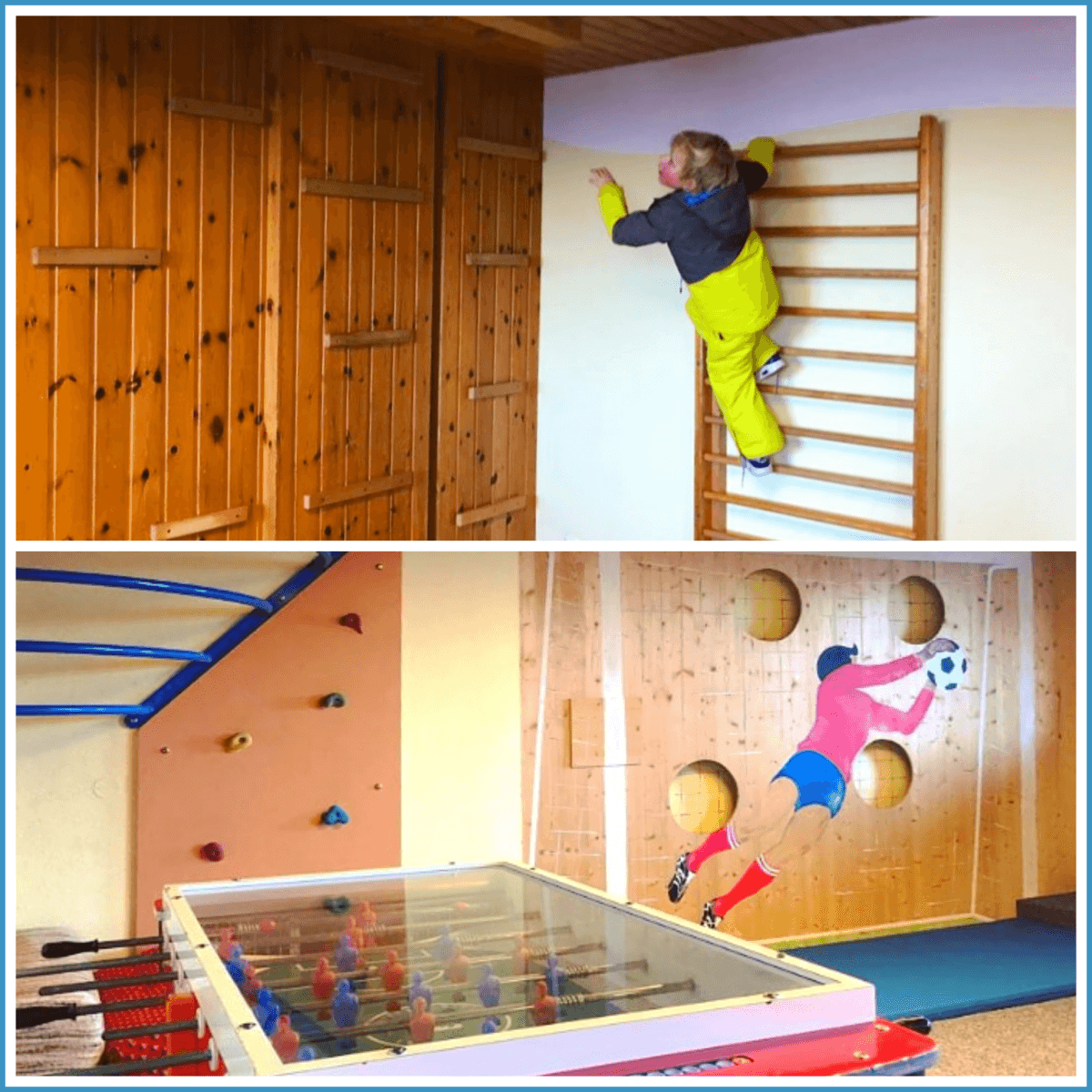 Schladming-Dachstein: wintersport met kids in Oostenrijk - Hotel Waldfrieden in Rohrmoos-Untertal met speelkamer