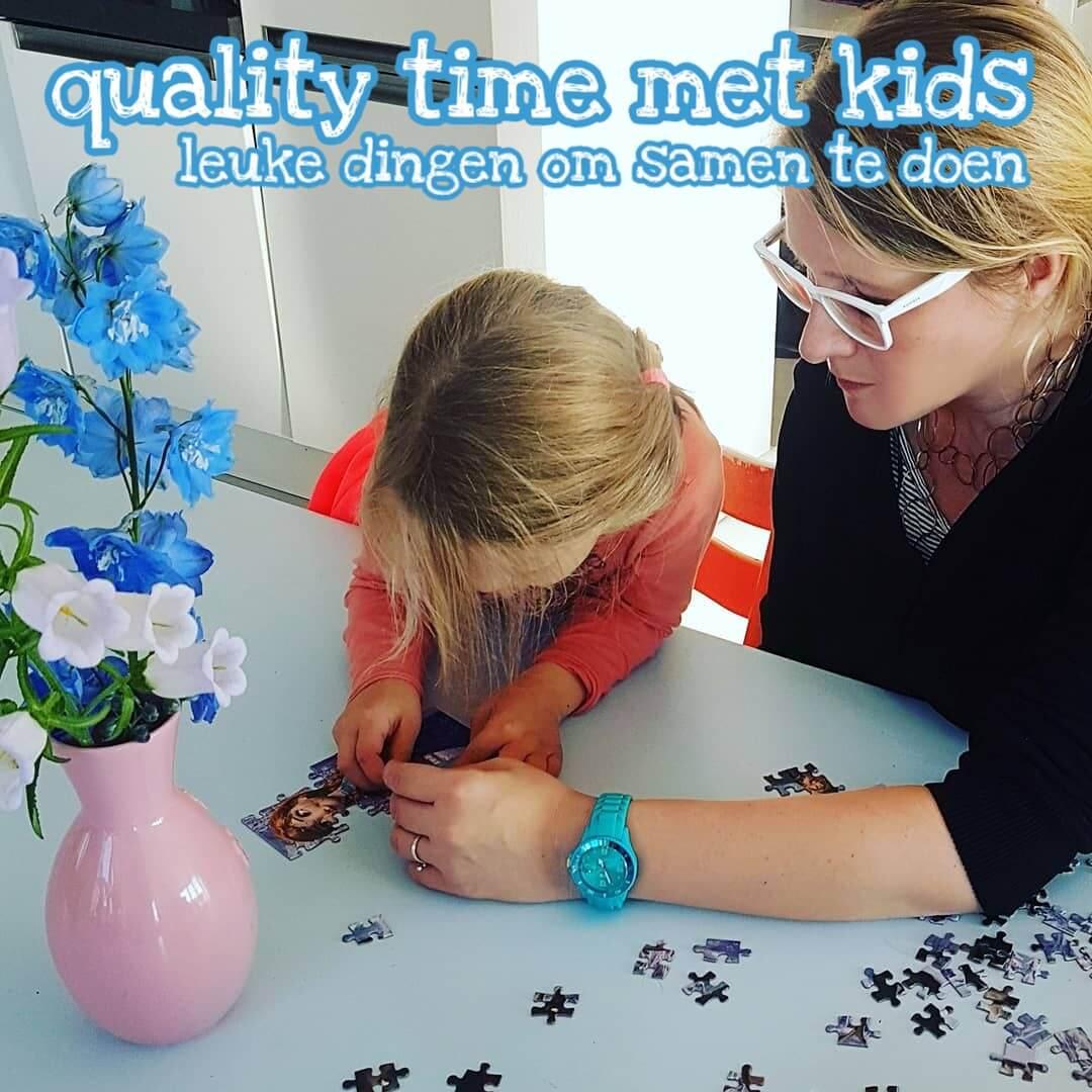 Quality time met kids: leuke dingen om samen met kinderen te doen