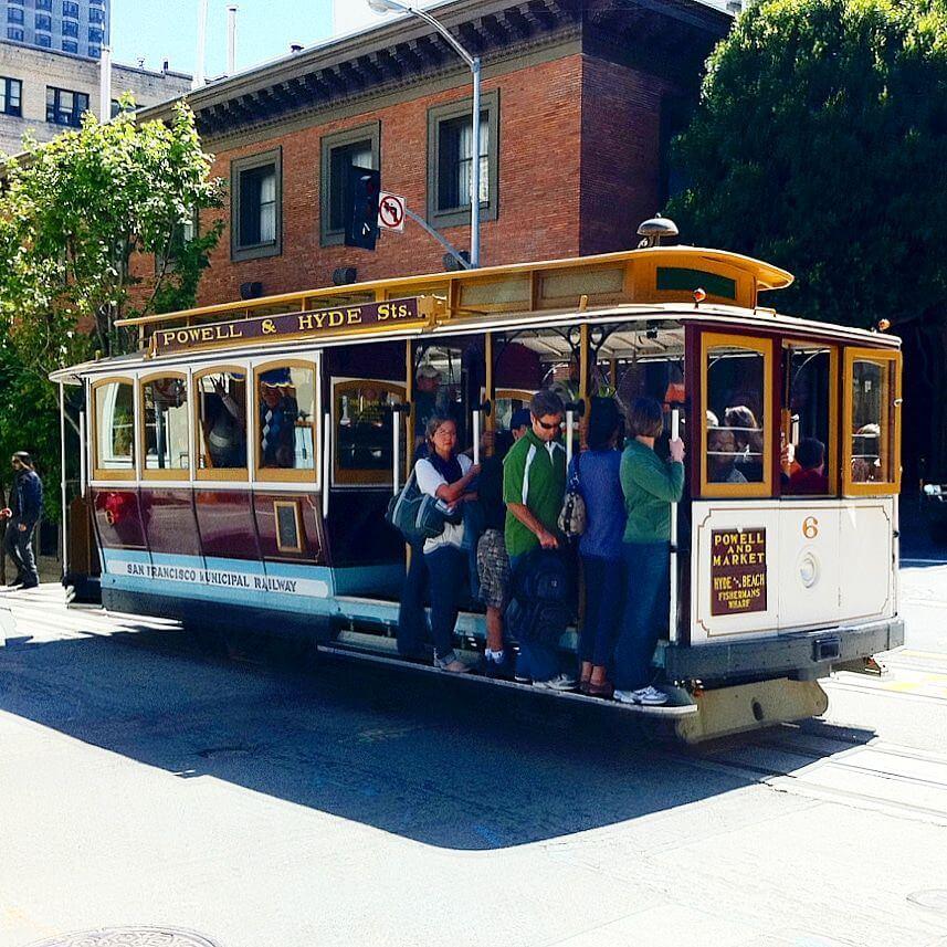 San Francisco met kids: kindvriendelijke tips van een local, CableCar
