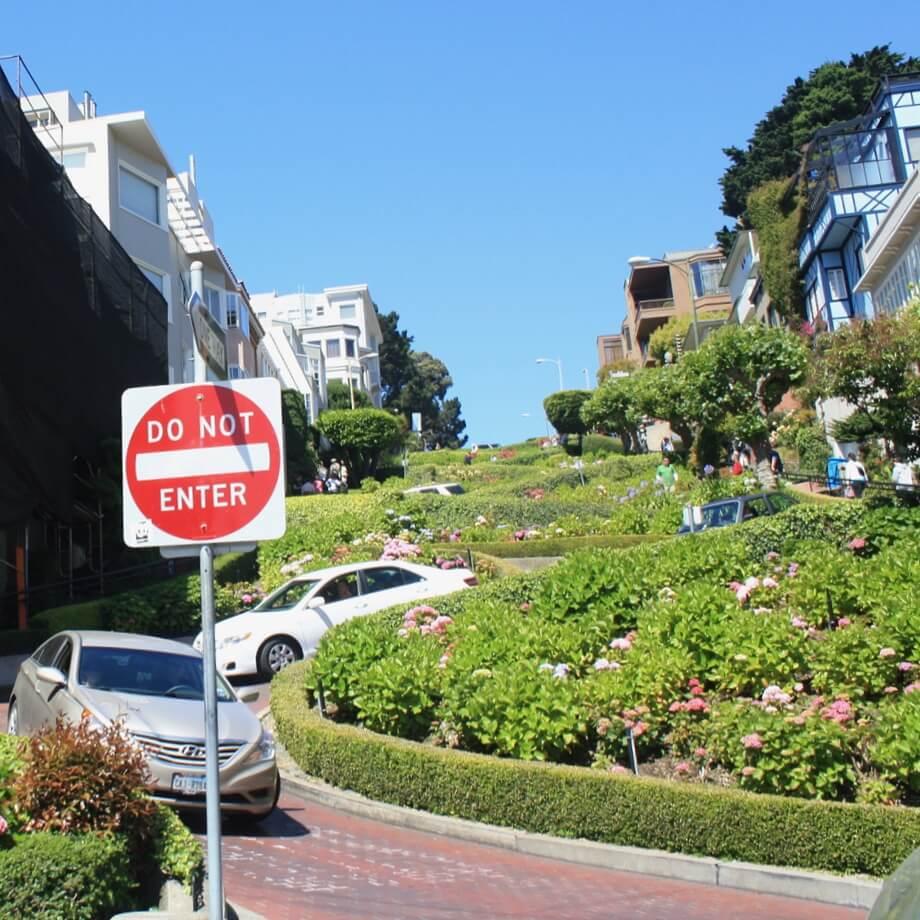 San Francisco met kids: kindvriendelijke tips van een local, Crooked Street