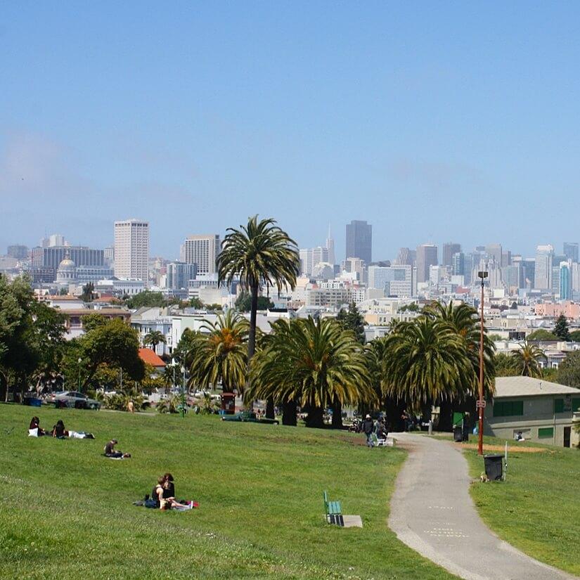 San Francisco met kids: kindvriendelijke tips van een local, Mission Dolores Park