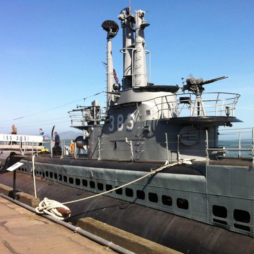 San Francisco met kids: kindvriendelijke tips van een local, USS Pampanito (SS-383)