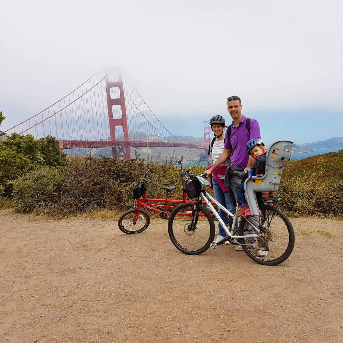 San Francisco met kids: kindvriendelijke tips van een local, Walking Tour Golden Gate Bridge