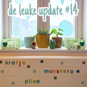 De Leuke Update #14 | voorjaar in huis
