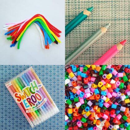 cadeau tips voor schoolkinderen en kleuters: knutselen