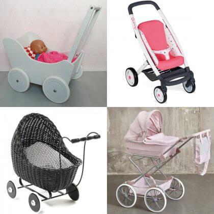 Verjaardagscadeau voor kids voor peuters, kleuters en kinderen: poppenwagens