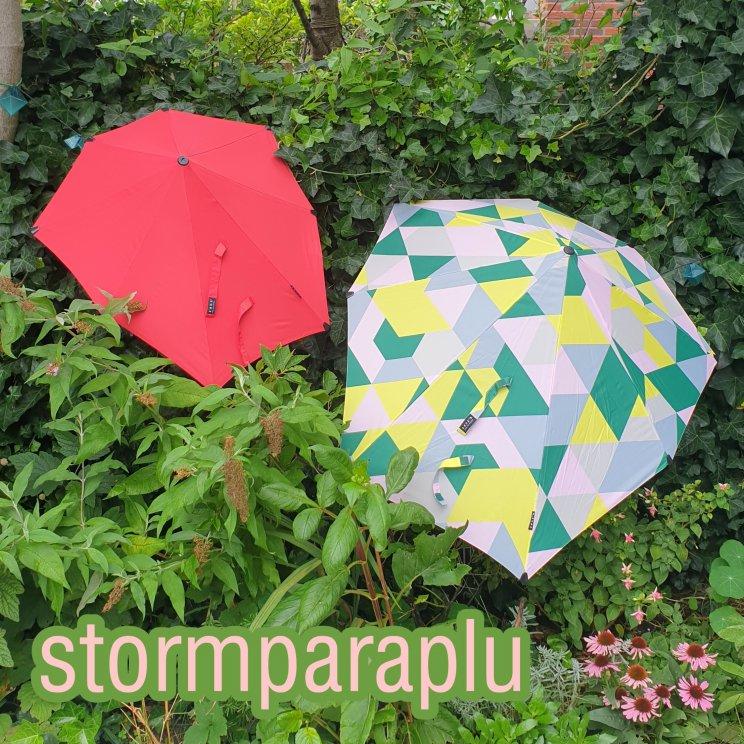 stormparaplu voor kinderen en volwassenen