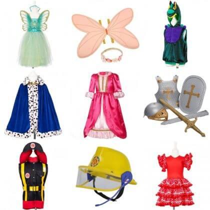 Verjaardagscadeau voor kids voor peuters, kleuters en kinderen: verkleedkleding voor in de verkleedkist