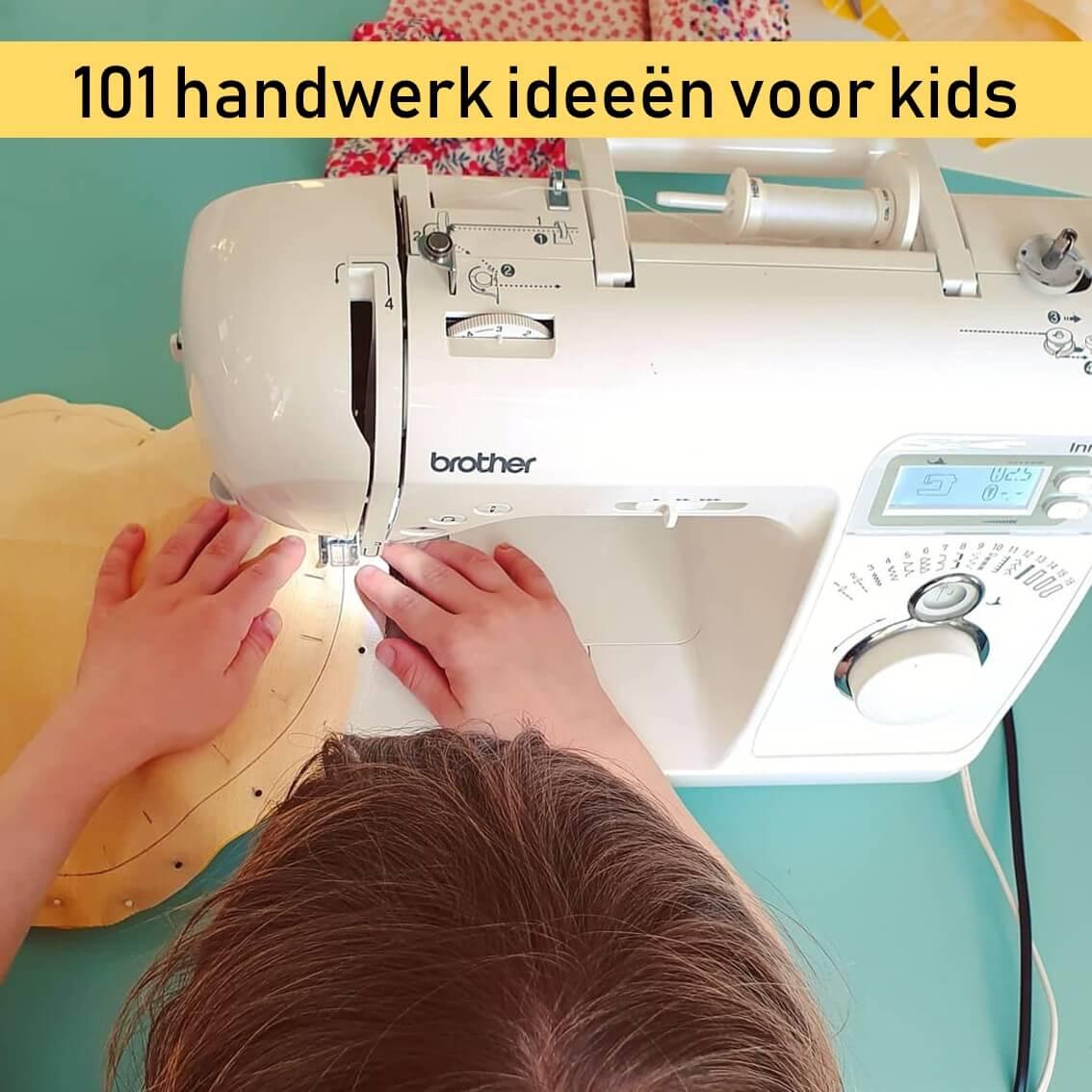 Handwerken voor jonge kinderen: naaien en borduren voor jongens en meisjes