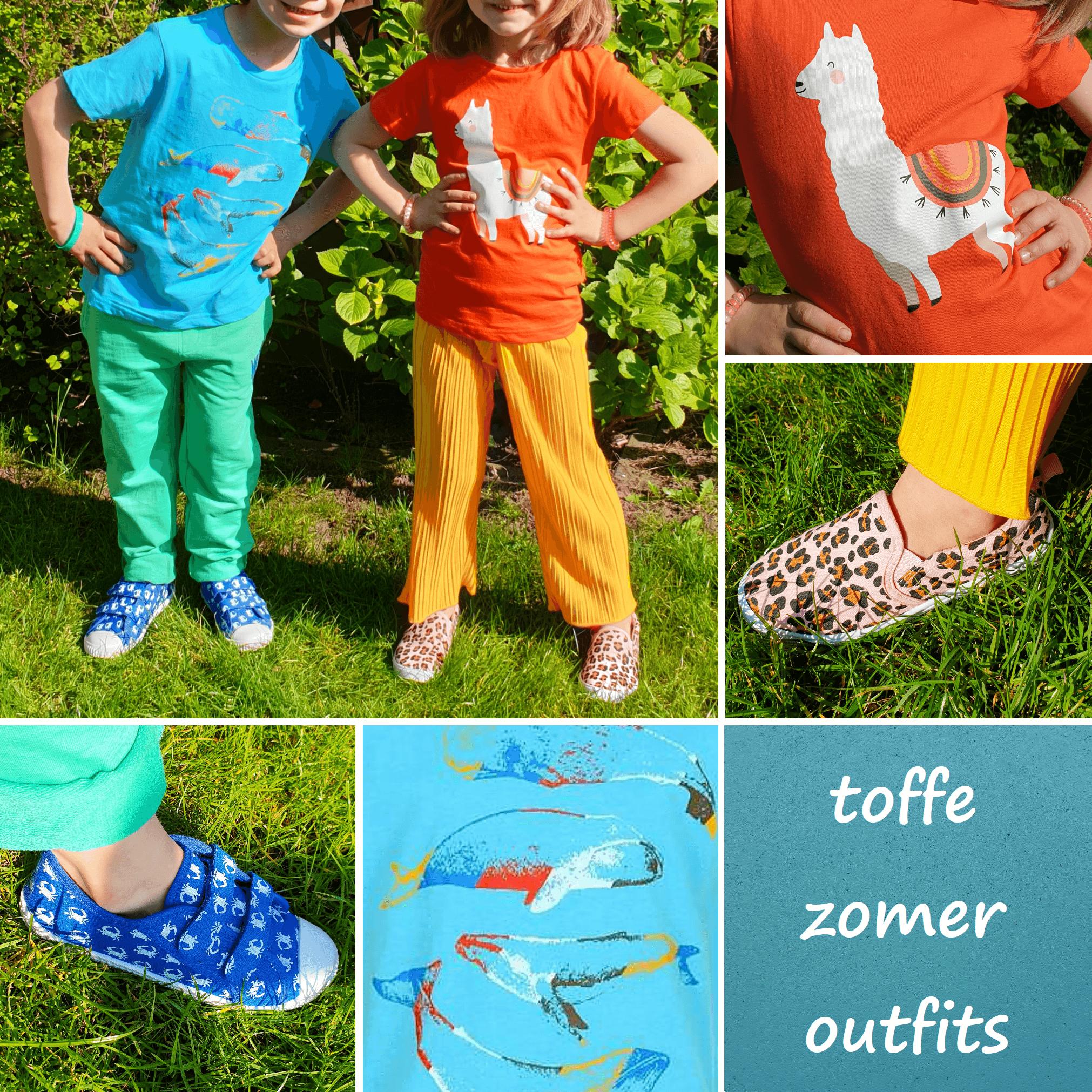 Toffe budget kinderkleding outfits voor de zomer