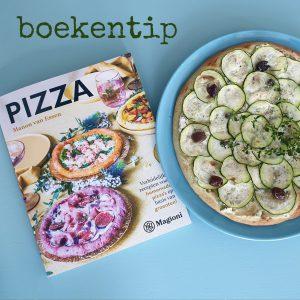 Boekentip: kookboek met lekkere recepten voor groente pizza