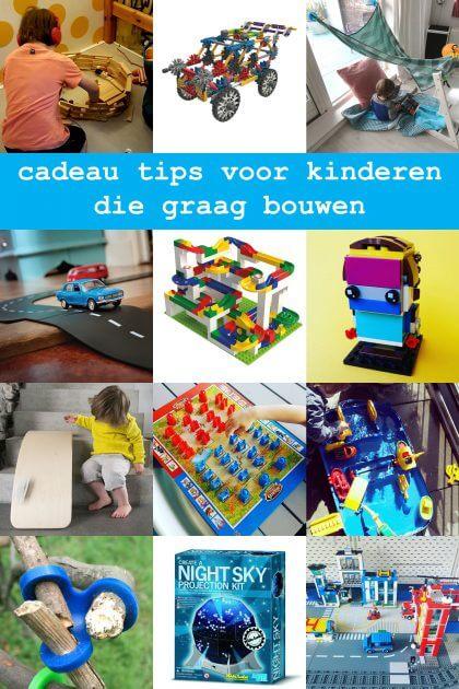 Cadeau ideeën voor kinderen die graag bouwen