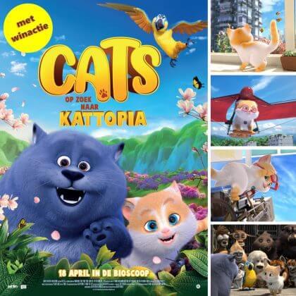Bioscoop winactie: Cats op zoek naar Kattopia
