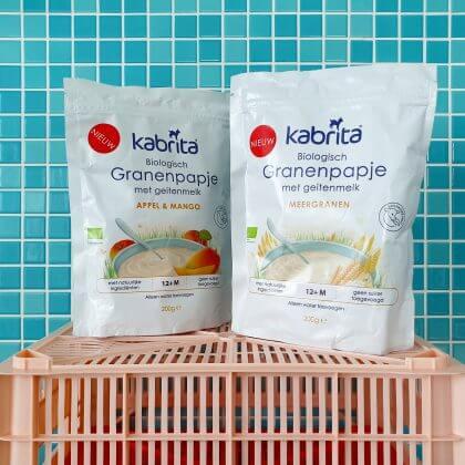 Test: Kabrita biologische granenpapjes op basis van geitenmelk
