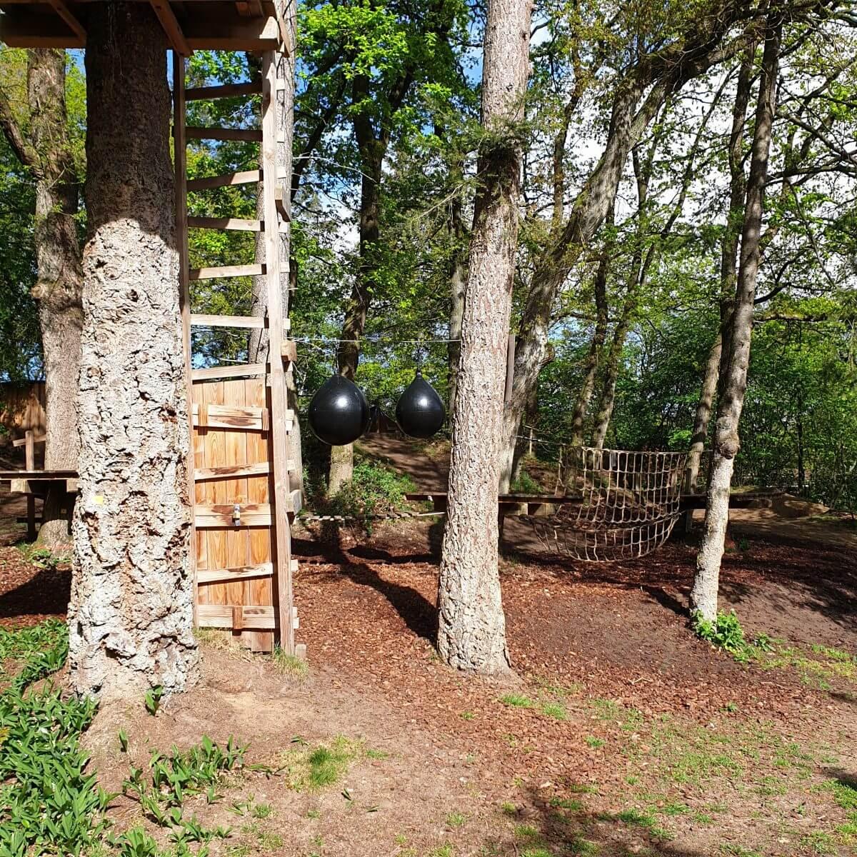 Landal Rabbit Hill buitenspeeltuin met tokkelbaan