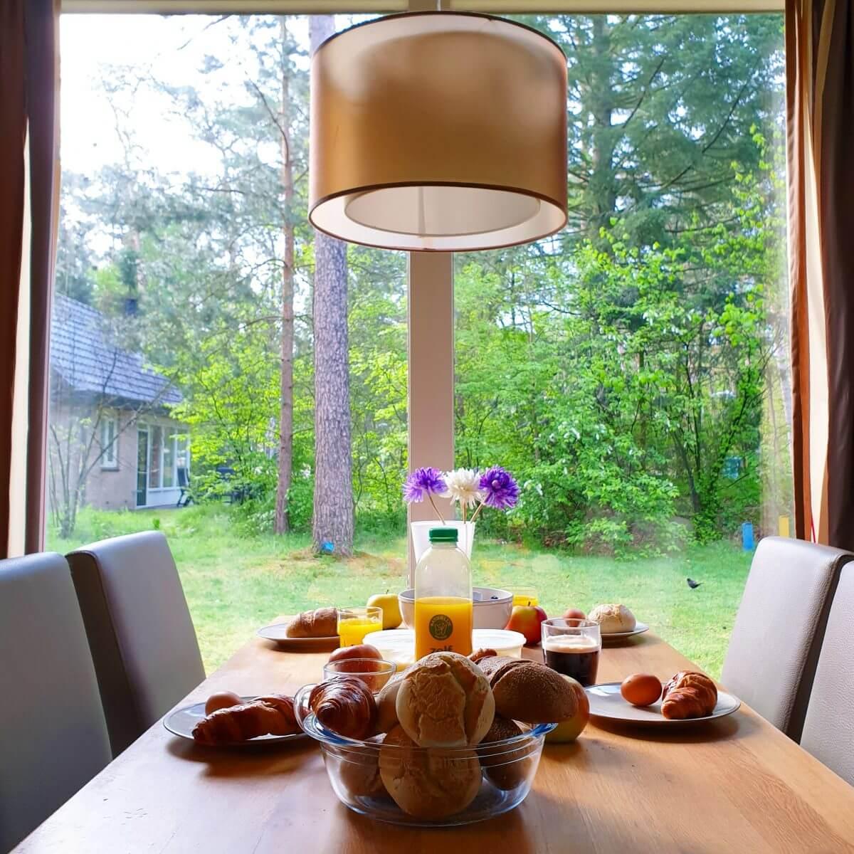 ontbijt op Landal Rabbit Hill