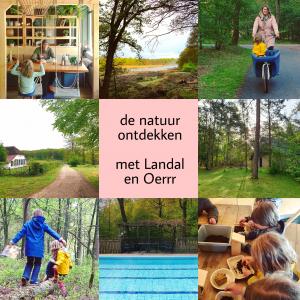 Landal Rabbit Hill met kids: de natuur in met Oerrr van Natuurmonumenten