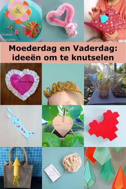 Moederdag En Vaderdag Ideeën Om Te Knutselen Leuk Met Kids
