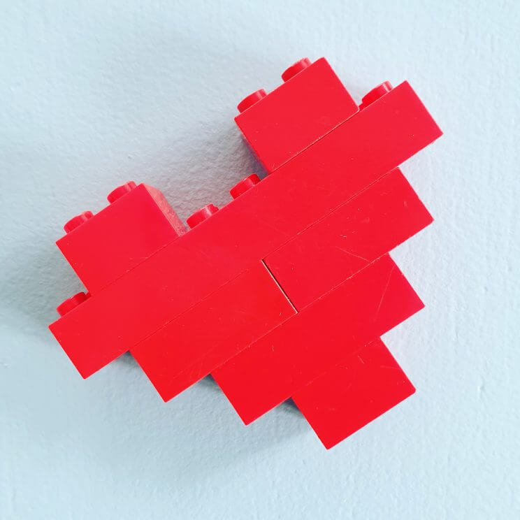Hartje van Lego