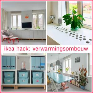 Ikea hack: Eket verwarmingsombouw en dressoir