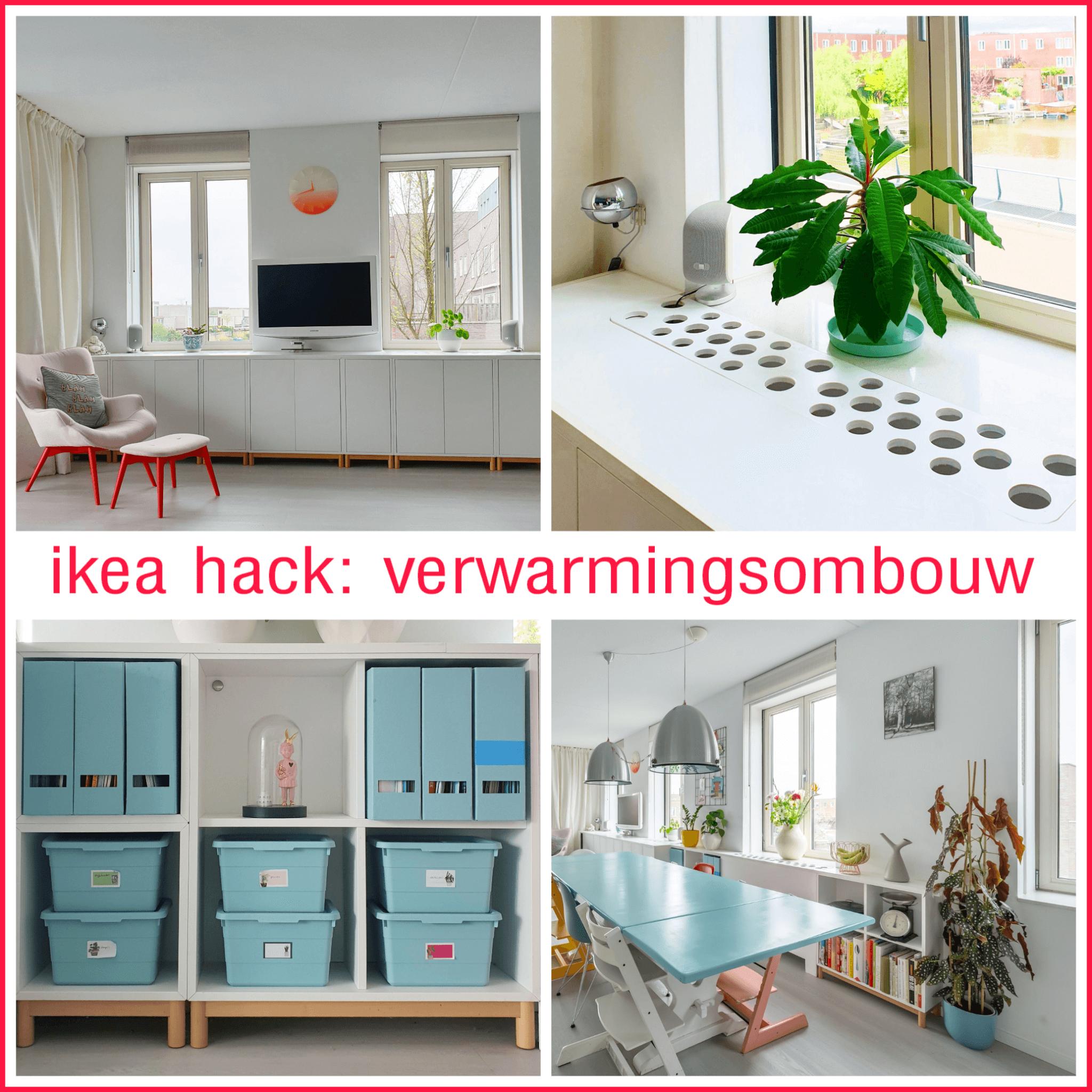 Ikea Hack: Eket verwarmingsombouw en dressoir. Eket heating conversion and sideboard dresser cupboard