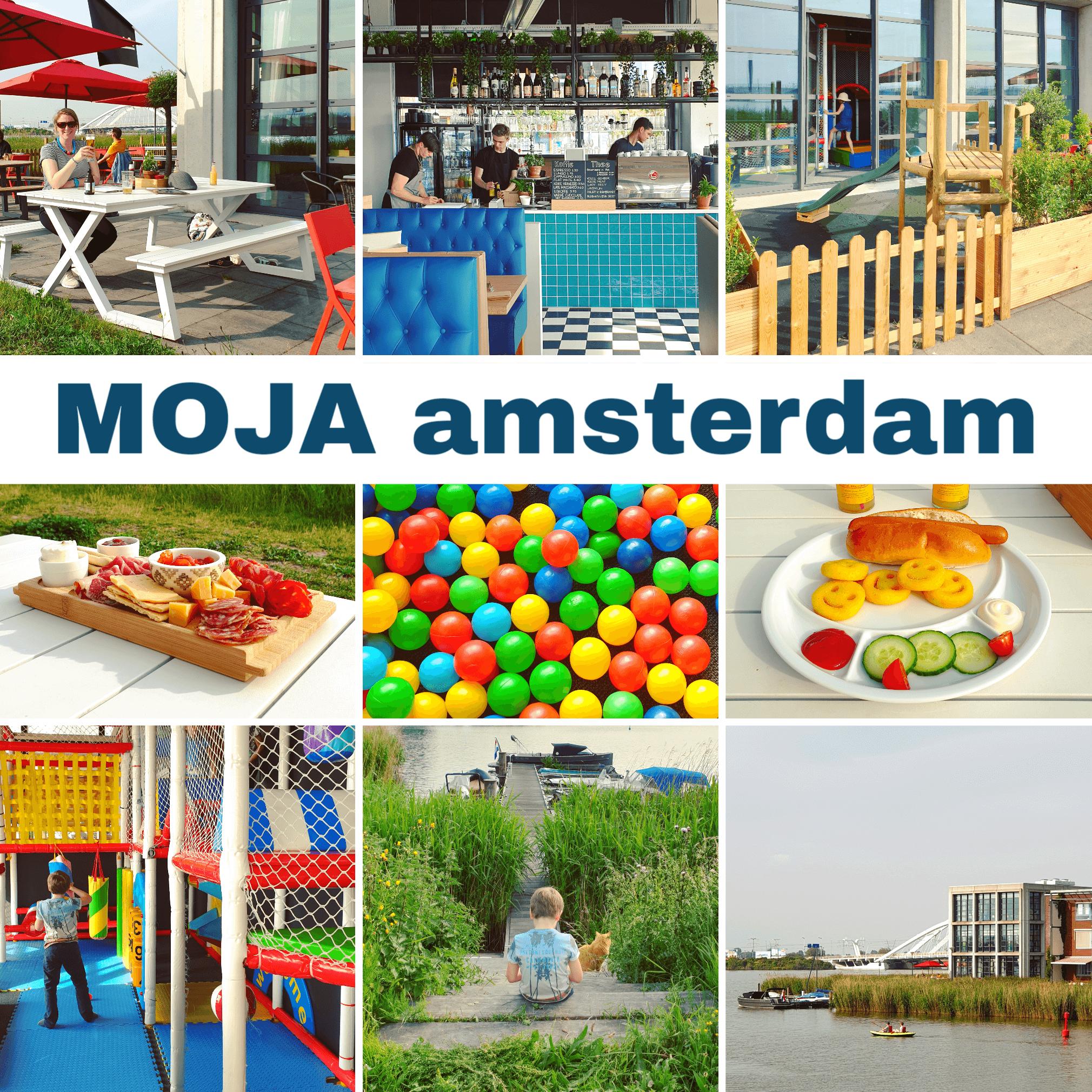 Uit eten met kids: kindvriendelijk restaurant MOJA in Amsterdam Oost